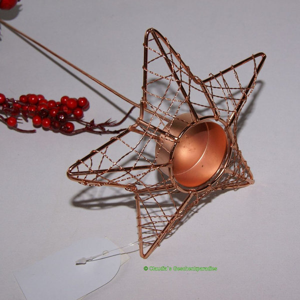 Adventsstecker Stern